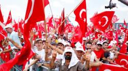 Επίδειξη ισχύος από Ερντογάν. Συγκέντρων εκαντοντάδεων χιλιάδων Τούρκων στην