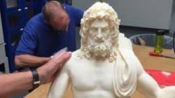 Ο Δίας επιστρέφει στον θρόνο του: Αναδημιουργία ενός από τα 7 Θαύματα του αρχαίου κόσμου μέσω 3D