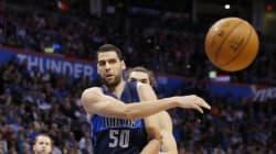 Quand le basketteur tunisien Salah Mejri se met à la danse pour les Dallas Mavericks