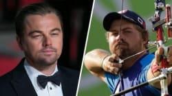 Αν ψάχνετε τον Leonardo DiCaprio, αγωνίζεται στην τοξοβολία στους Ολυμπιακούς του