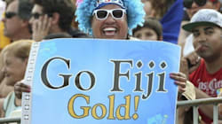 처음으로 올림픽 메달을 딴 피지는 흥에