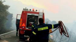 Νεκρός πυροσβέστης σε πυρκαγιά στο Παρόρι