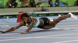 L'incroyable plongeon de cette athlète pour obtenir la médaille