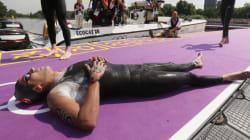 Rio 2016: Le nageur tunisien Oussema Mellouli finit 12eme au Marathon 10
