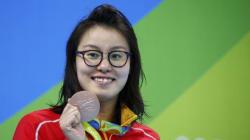 La nageuse chinoise Fu Yuanhui brise un tabou sur les