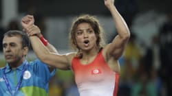 Rio 2016: La lutteuse tunisienne Marwa Amri remporte la médaille de bronze en -58