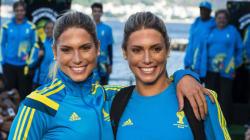 Οι δίδυμες Βραζιλιάνες της συγχρονισμένης κολύμβησης που «ταράζουν» τα νερά στο