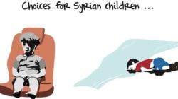Ένα σκίτσο συνοψίζει με συγκλονιστικό τρόπο τις επιλογές που έχουν τα παιδιά στη
