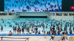 Chine: fausses vacances à la mer sous le toit du