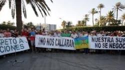 Des musulmans manifestent à Melilla contre l'interdiction d'importer des
