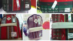 Ces tisserands confectionnent des sacs à dos à partir de tapisseries mozabites