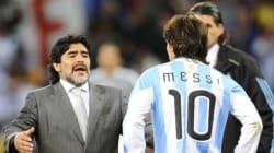 Maradona critique le faux départ de Messi de la sélection