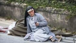 지진으로 꼼짝없이 죽을 뻔했던 수녀가 겨우 살아남을 수 있었던 사연은 이렇다(사진