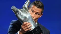 Cristiano Ronaldo, meilleur joueur d'Europe de la saison