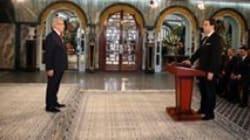Le nouveau gouvernement prête serment à la Présidence de la