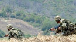 Quatre caches pour terroristes découvertes et détruites par les forces de l'ANP à