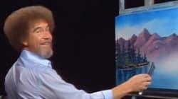 Κάποιος (καλός άνθρωπος) έβαλε και τους 403 πίνακες του Bob Ross σε ένα