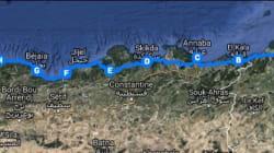 Tunis-Alger à vélo pour une bonne