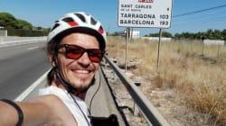 Oran-Istanbul-Oran 2021: le cyclo-voyageur Norine Chouarfia arrive en