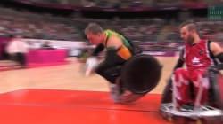 Le rugby-fauteuil est au moins aussi spectaculaire que chez les