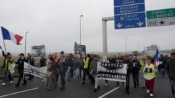 프랑스 주민들이 난민캠프 철거시위에