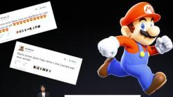Mario sur l'iPhone, Pokemon sur l'Apple Watch... et les internautes aux