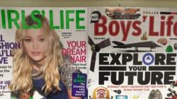 딸을 가진 부모들이 이 잡지 표지에 격분한