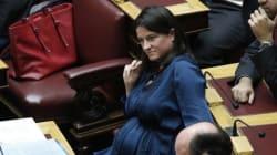 Το τριτοκοσμικό ελληνικό κοινοβούλιο...Κεραμέως: Ήμουν έγκυος και πάσχιζα να βρω χώρο στη Βουλή που να μην