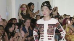 Défigurée à l'acide, cette jeune indienne a défilé à la Fashion Week de New