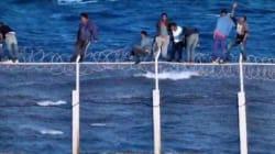 Près de 300 migrants sont entrés clandestinement à Sebta via le Maroc cet