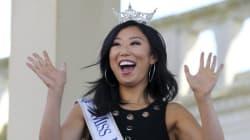 '미스 아메리카' 최초의 아시아계 미국인 후보가 '못생겼다'는 비난을