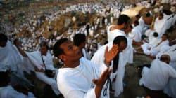 La Mecque: les fidèles se regroupent sur le Mont Arafat, au 2e jour du