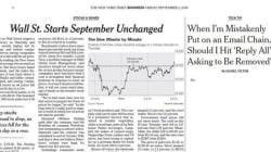 한 단어짜리 NYT 기사는 정말