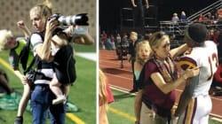 Ces deux photos montrent à quel point être maman exige d'être