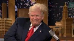 Le toupet de Jimmy Fallon qui décoiffe Donald Trump en direct à la