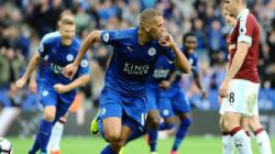 Doublé de Slimani avec Leicester City