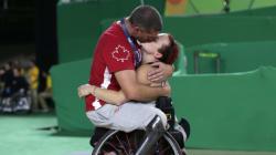 Le baiser à retenir des Jeux
