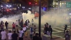 Les images de la nouvelle nuit de violences à