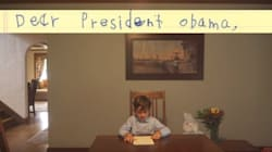 6살 아이가 오바마에게 보낸 편지는 4백만 명을