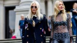 Βελούδο, καπαρντίνες και άλλες 3 τάσεις που κυριάρχησαν στο street style της Εβδομάδας Μόδας του