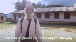 이 69세 할아버지는 매일 고등학교에 가기 위해 3시간을
