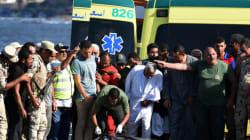 Egypte: au moins 133 morts dans le naufrage du bateau de
