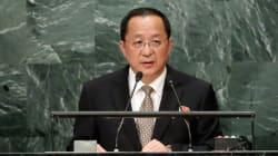 북한 리용호 외무상은 북핵을 질적 양적 강화하겠다고