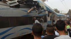 Collision entre deux trains à Boudouaou