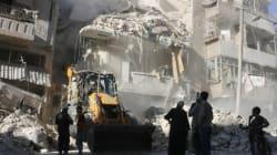 Pluie de bombes meurtrière sur les quartiers rebelles d'Alep en