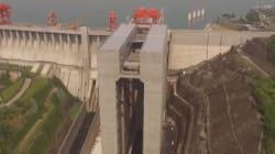 L'ascenseur le plus massif du monde a ouvert en