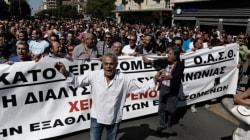 Νέα συγκέντρωση διαμαρτυρίας στα γραφεία του ΟΑΣΘ. Συνεχίζεται η επίσχεση
