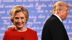 Trump et Clinton s'affrontent dans un débat musclé et