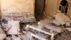 시리아군이 알레포 병원을 또
