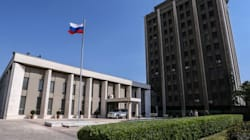 Η ρωσική πρεσβεία στη Δαμασκό δέχτηκε πυρά από θέσεις